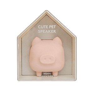 Speaker bluetooth Cute Pet Porquinho