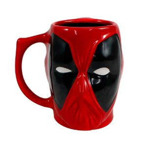 Caneca 3D Deadpool - Marvel