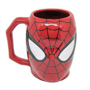 Caneca 3D Homem Aranha - Marvel
