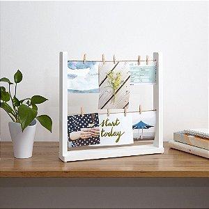 Porta retrato de mesa varal Hangit Desk - Umbra Design