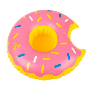 Porta Copo Inflável Donuts