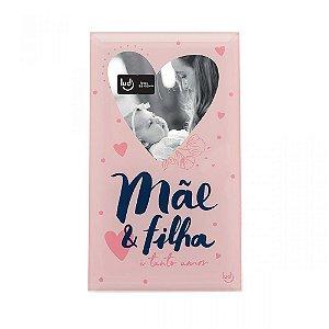 Porta Retrato Cartão Mãe e Filha - Mãe Gratidão