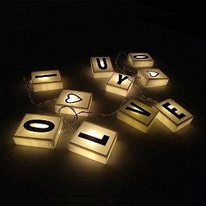 Cordão de luz lightbox C/10