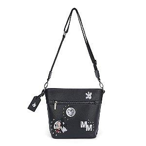 Bolsa de ombro com apliques - Mickey Mouse