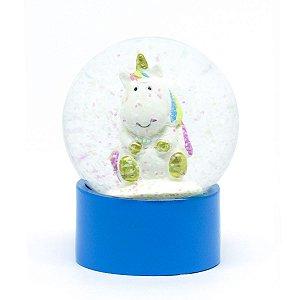Globo de neve - Unicórnio