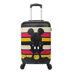 Mala de viagem de bordo rígida Sombra Listras P - Mickey mouse