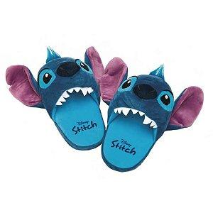 Pantufa 3D aberta - Stitch Disney