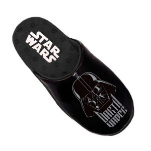 Pantufa chinelo preto Darth Vader - Star Wars