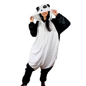 Pijama Macacão Panda
