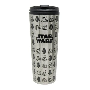 Copo viagem metálico Dark Side - Star Wars