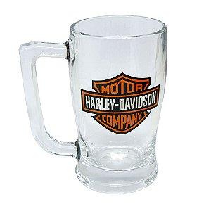 Caneca Taberna vidro 340ml - Harley Davidson