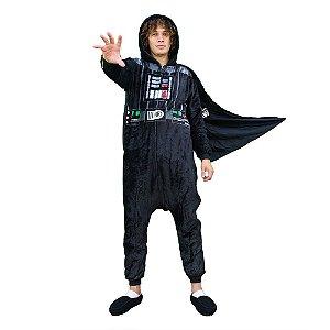 Pijama Macacão kigurumi Darth Vader - Star Wars