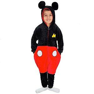 Pijama Macacão kigurumi infantil Mickey Mouse - Disney