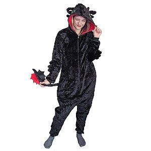 Pijama Macacão kigurumi Dragão