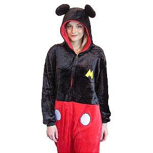 Pijama Macacão kigurumi Mickey Mouse - Disney