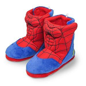 Pantufa bota infantil - Homem Aranha