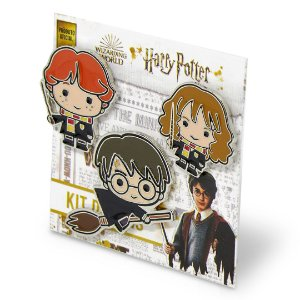 Kit com 3 pins amigos - Harry Potter