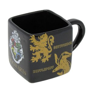 Caneca Cubo 300ml Casas de Hogwarts - Harry Potter