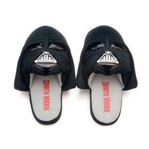 Pantufa 3D aberta Darth Vader - Star Wars