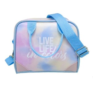 Lancheira Transversal Térmica Tie Dye - Live Life In Colors