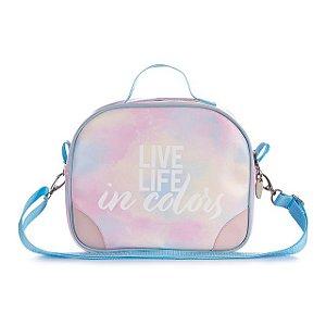Bolsa Transversal Utilitária Tie Dye - Live Life In Colors
