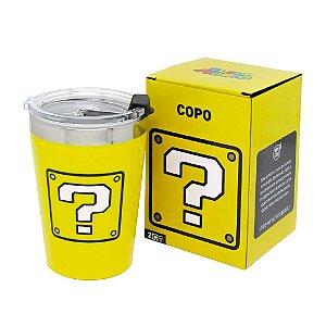 Copo viagem Snap 300ml Cubo - Mario