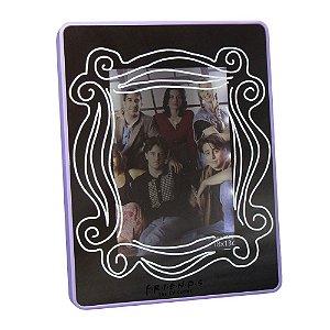 Porta Retrato Espelho C/ Led 13x18cm - Friends Original
