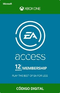 EA Access Xbox One (Código Digital)