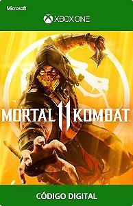 Mortal Kombat 11 Xbox One Código