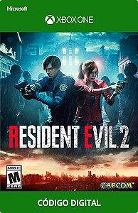 Resident Evil 2 Xbox One Código