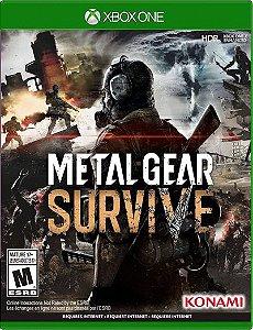 Metal Gear Survive Xbox One Mídia Digital