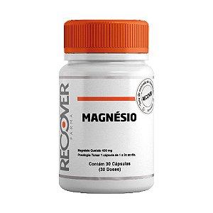 Magnésio Quelato 400mg - 30 Cápsulas (30 Doses)