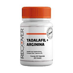 Tadalafil + Arginina - 60 Cápsulas (60 Doses)