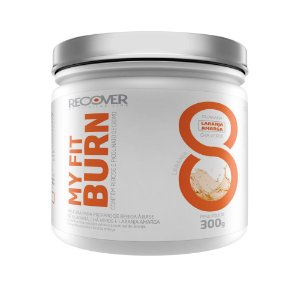My Fit Burn 300g - Sabor Laranja