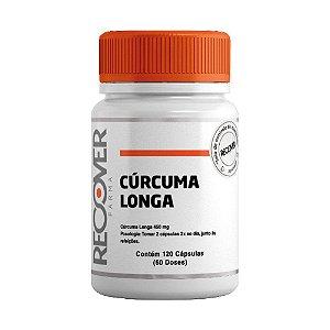 Curcuma Longa 450mg - 120 Cápsulas (60 Doses)