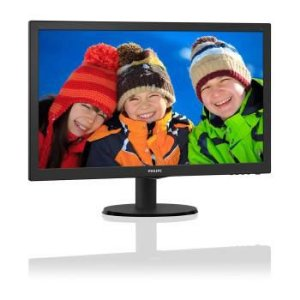 MONITOR LED PHILIPS 273V5LHAB 27P WIDE HDMI DVI - 273V5LHAB