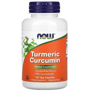 Cúrcuma Longa Premium, Now Foods, 60 Capsulas Vegetais
