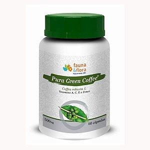 Extrato de Café - Pura Green Coffee 500mg 60 cápsulas