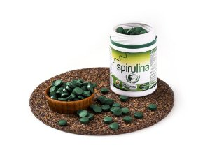 Spirulina Orgânica 180 Comprimidos, Fazenda Tamanduá