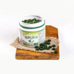Spirulina Orgânica 360 Comprimidos, Fazenda Tamanduá