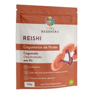 Reishi Cogumelos De Poder Viva Regenera 100g