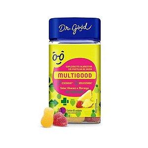 Multigood Diet Suplemento Em Gomas Morango C/60 Dr Good
