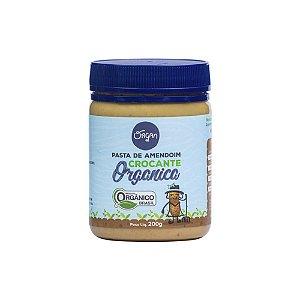 Pasta Amendoim Orgânico Crocante Organ 200g