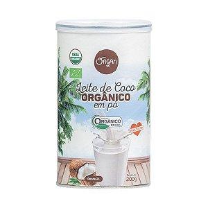 Leite de Coco Orgânico em Pó Organ 200g