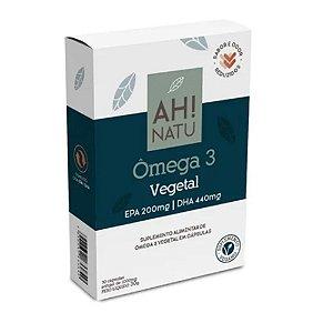 Ômega 3 Vegetal 30Capsulas EPA 200mg DHA 440mg