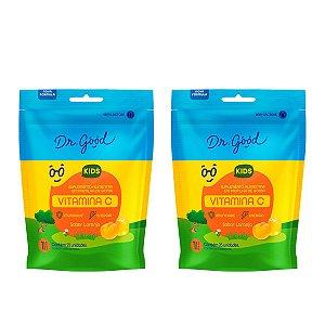 Kit 2x Gominhas Vitamina C Kids - Pacote 25 Unidades
