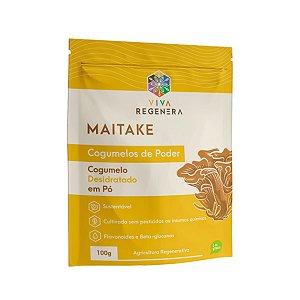 Maitake Cogumelos de Poder Viva Regenera 100g