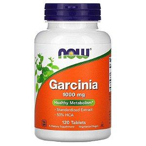 Garcinia, Now Foods, 1.000 mg, 120 Comprimidos, Importado