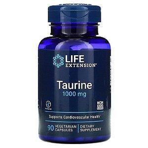 Taurina, Life Extension, 1,000 mg, 90 Cápsulas, Importado