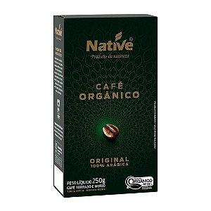 Café Orgânico Native Torrado e Moido 250g